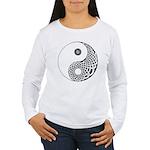 Celtic Yin & Yang Women's Long Sleeve T-Shirt