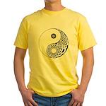Celtic Yin & Yang Yellow T-Shirt