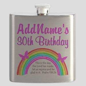 BEAUTIFUL 30TH Flask