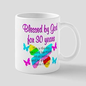 BLESSED 30TH Mug