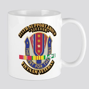 Army - 315th Support Group w SVC Ribbon Mug