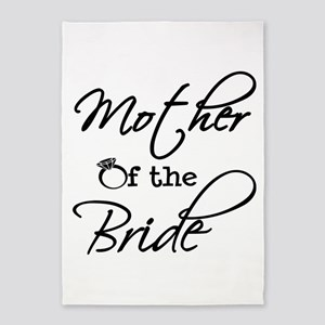 Mother of the Bride 5'x7'Area Rug