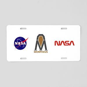 Project Morpheus Lander Aluminum License Plate