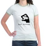 Bad Monkey Ringer T-shirt