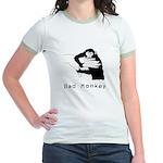 Bad Monkey Ringer T-shirt