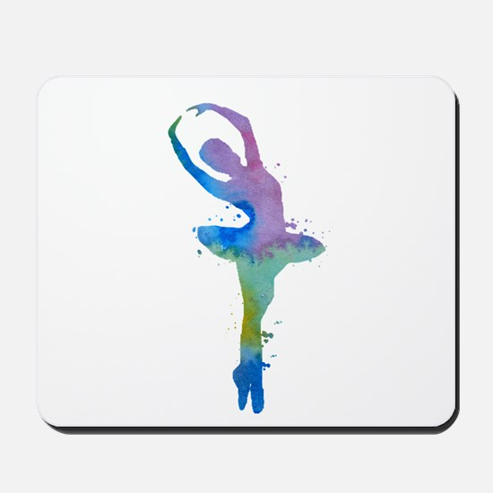 Ballet dancer Mousepad