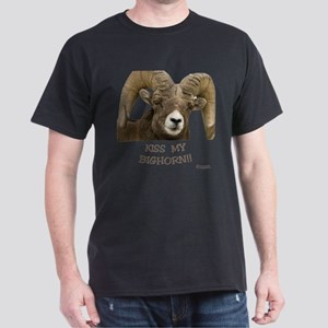 Kiss my bighorn apparel Dark T-Shirt
