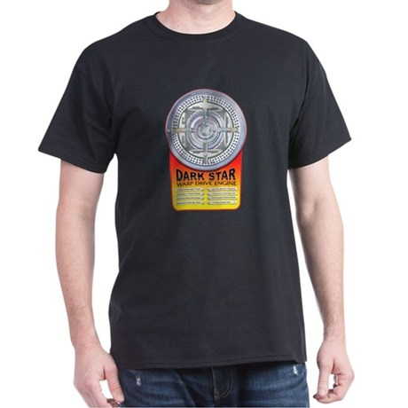 DarkStar WarpDrive Engine Dark T-Shirt