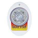 DarkStar WarpDrive Engine Oval Ornament