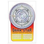DarkStar WarpDrive Engine Large Poster