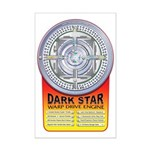 DarkStar WarpDrive Engine Mini Poster Print