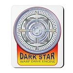 DarkStar WarpDrive Engine Mousepad