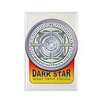DarkStar WarpDrive Engine Rectangle Magnet