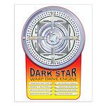DarkStar WarpDrive Engine Small Poster