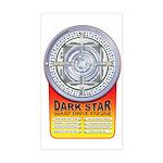 DarkStar WarpDrive Engine Rectangle Sticker