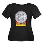 DarkStar Women's Plus Size Scoop Neck Dark T-Shirt