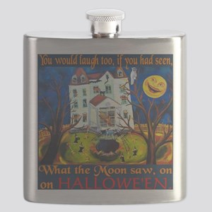 Halloween Moon Flask