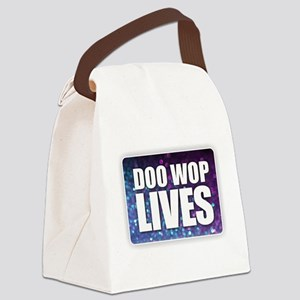 Doo Wop Lives Canvas Lunch Bag