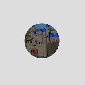 Water Castle Mini Button