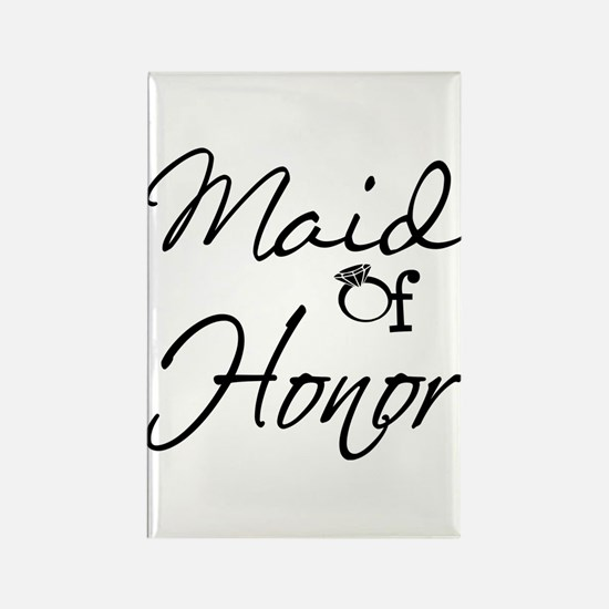 Maid of Honor Rectangle Magnet