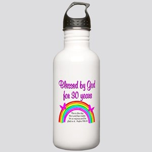 BLESSED 30TH Stainless Water Bottle 1.0L