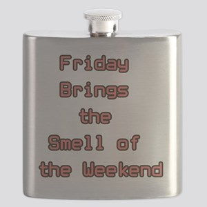 Friday brings the smell of the weekend Flask