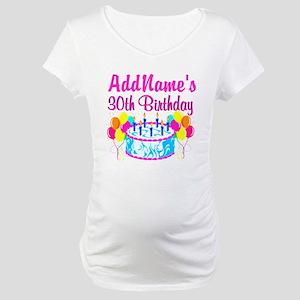 FABULOUS 30TH Maternity T-Shirt