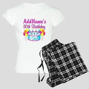 FABULOUS 30TH Women's Light Pajamas