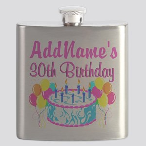 FABULOUS 30TH Flask
