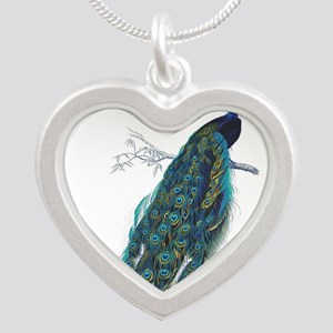 Vintage peacock Necklaces