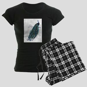 Vintage peacock pajamas