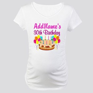 FABULOUS 30TH Maternity T-Shirt