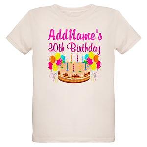30th Birthday Organic Kids T Shirts