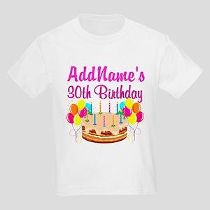 FABULOUS 30TH Kids Light T-Shirt