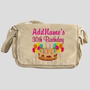 FABULOUS 30TH Messenger Bag
