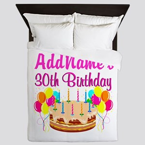 FABULOUS 30TH Queen Duvet