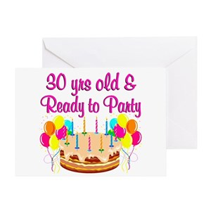 30 And Fabulous Greeting Cards
