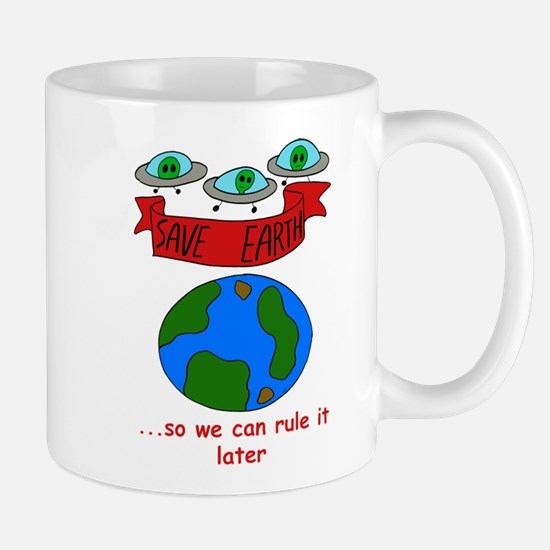 Alien Invasion Earth Mug