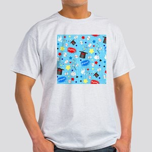 Blue Magician pattern T-Shirt