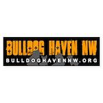 BHNW Bumper Sticker (Black)