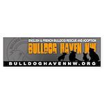 BHNW Bumper Sticker (Grey) 10 PACK