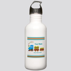 Custom Kids Train Stainless Water Bottle 1.0L