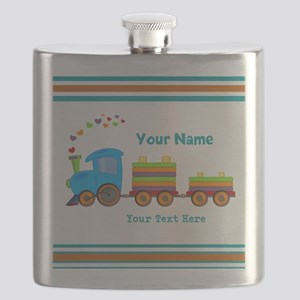 Custom Kids Train Flask