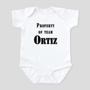 Property of Team Ortiz Infant Bodysuit