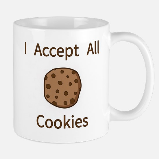 I Accept All Cookies Mugs