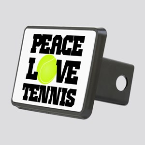 Peace, Love, Tennis Hitch Cover