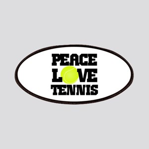 Peace, Love, Tennis Patches