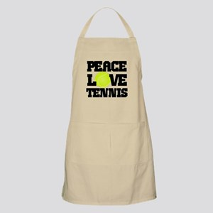 Peace, Love, Tennis Apron