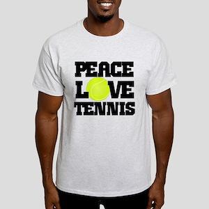 Peace, Love, Tennis T-Shirt