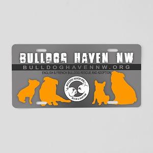 BHNW Aluminum License Plate